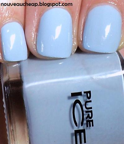 & swatches pure ice nail