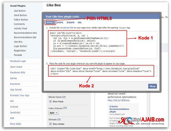Cara Pasang Plugin Facebook