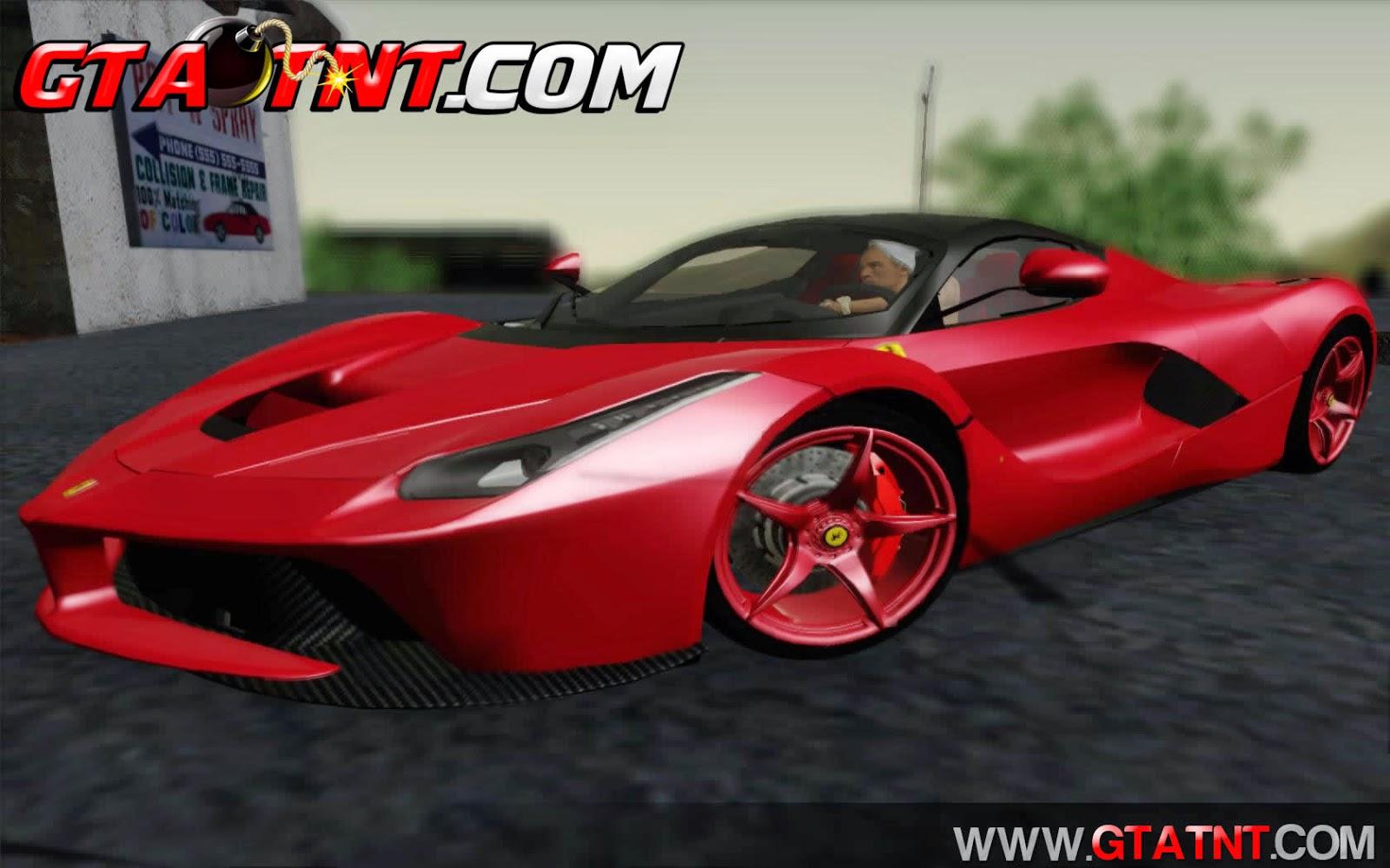 Ferrari LaFerrari F70 2014 para GTA San Andreas