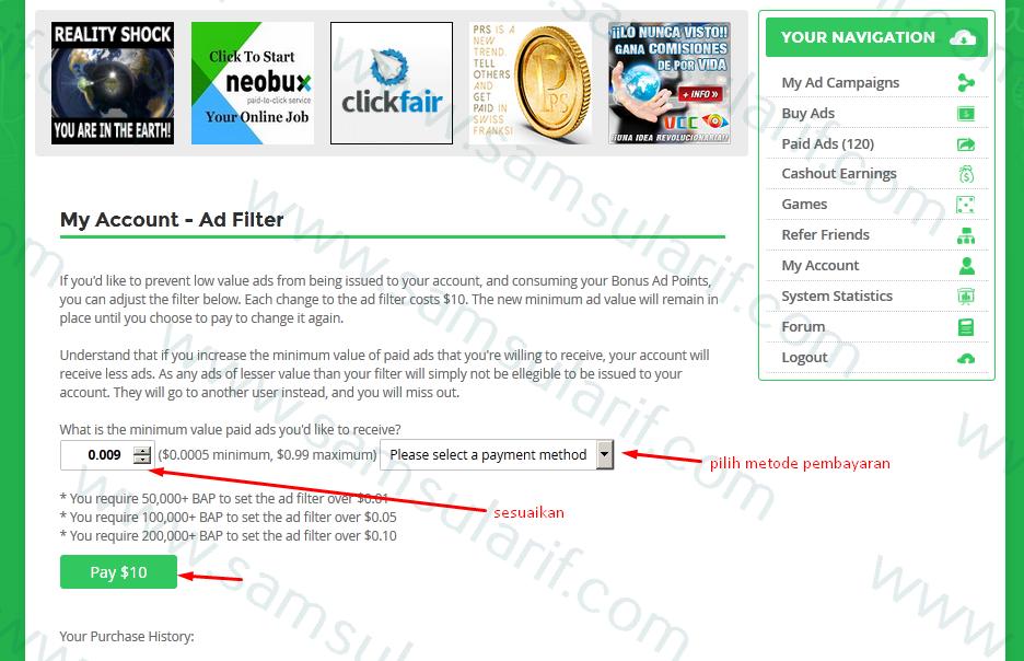 Ad Filter