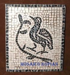 Taller de mosaicos al estilo romano