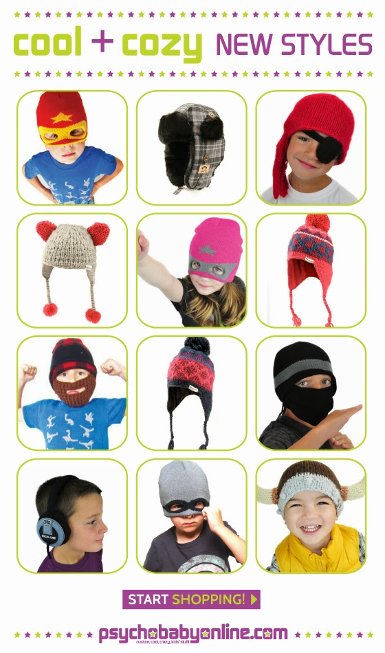 Cool Hats for Baby and Kids - Psychobaby