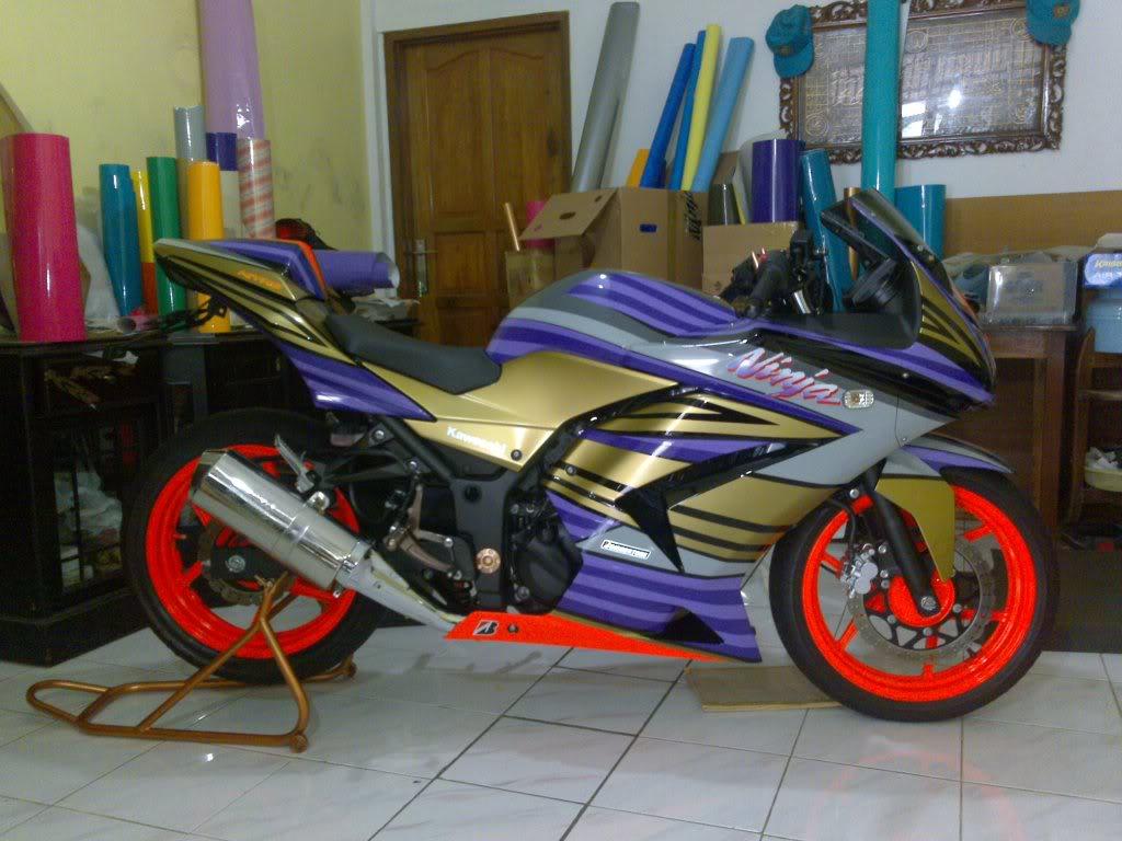Foto sepeda motor ninja 79