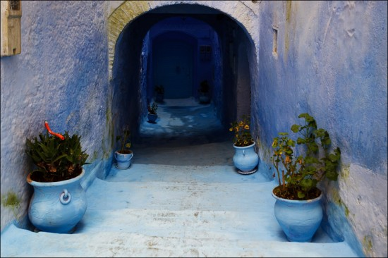 Blue City of Morocco Tourist Destinations