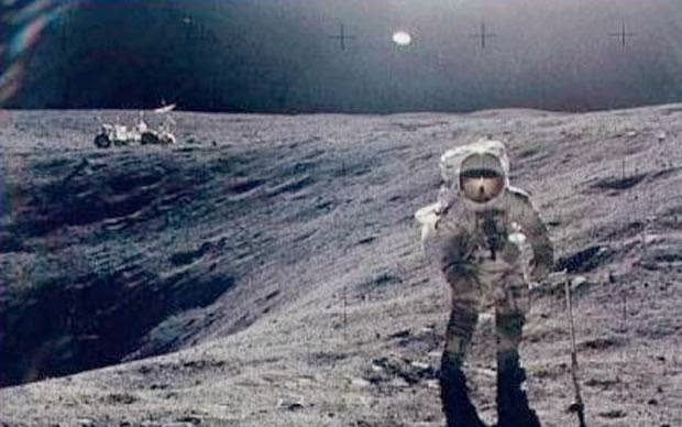 astronauts find structures on moon - photo #31