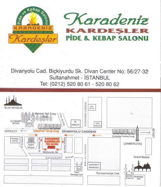 Restaurante con vista a Santa Sofia