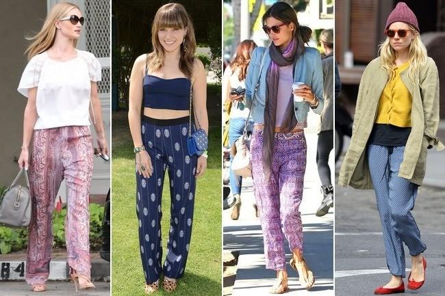 Celebrities in Pajamas