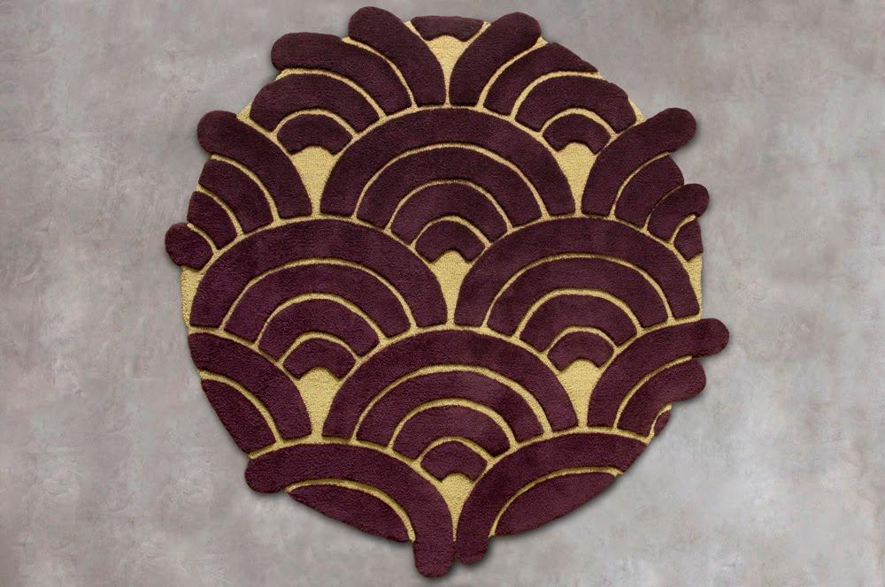 diseo de alfombras modernas muy hermosas para la decoracin de su hogar hechas por la artista y diseadora argentina analia sagal quien creo
