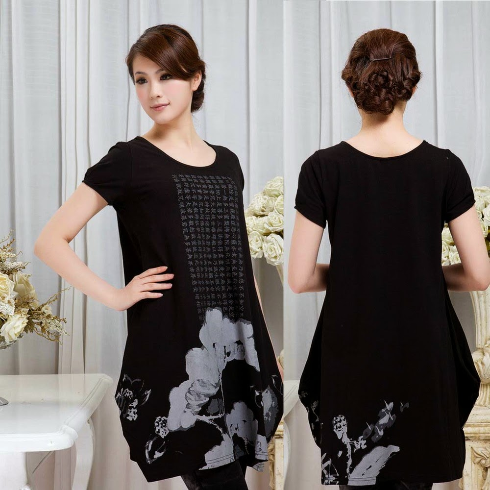 Fashion style Long stylish tops for girls for lady