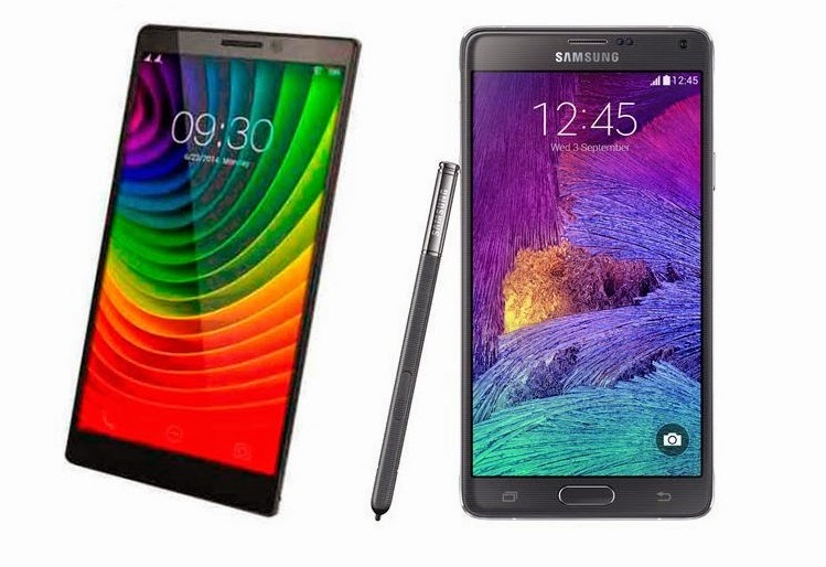 Lenovo Vibe Z2 Pro vs. Samsung Galaxy Note 4
