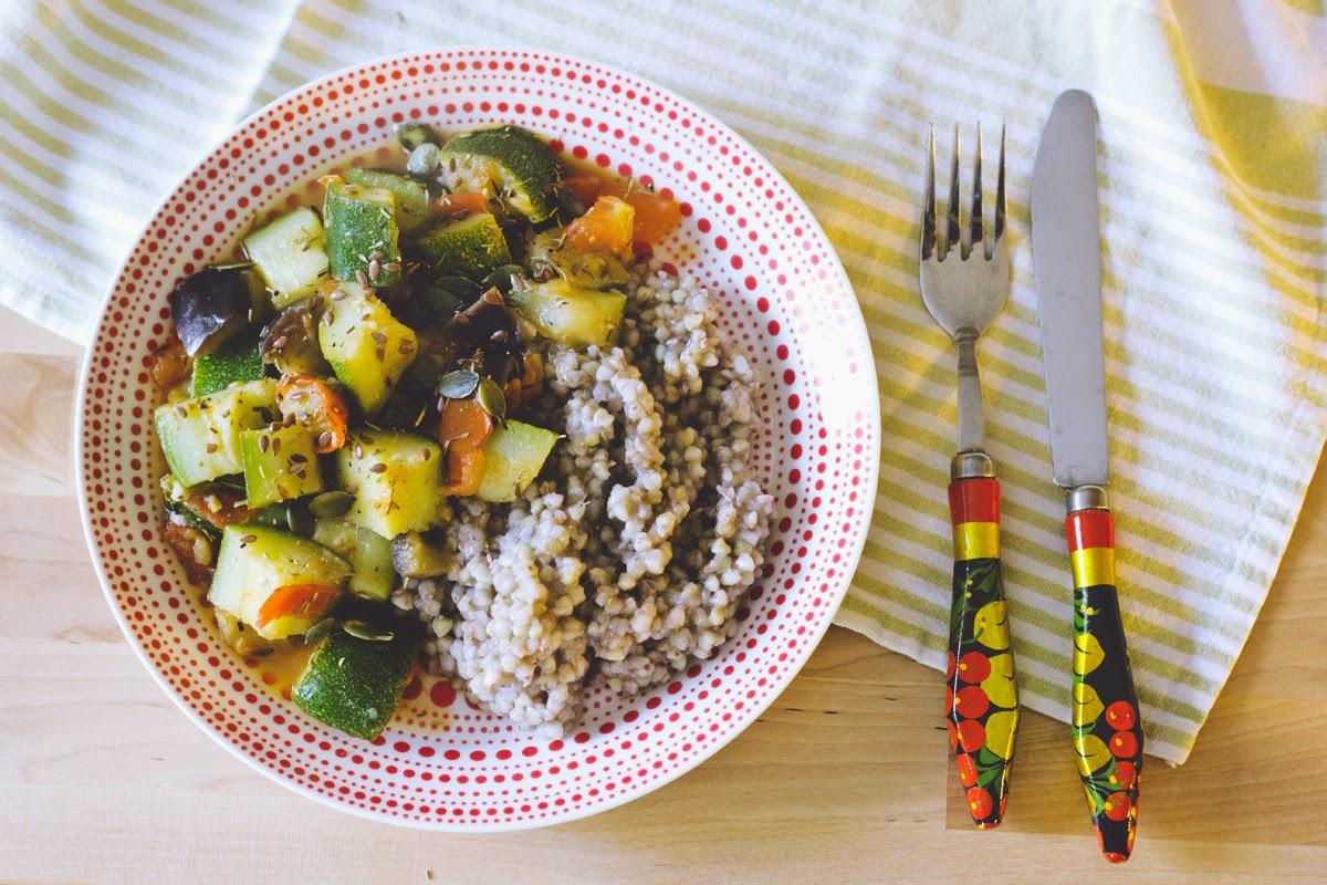 buckwheat and veggies recipe