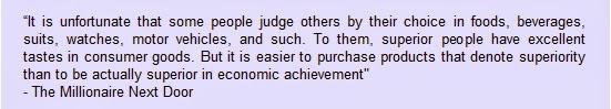 Quote from The Millionaire Next Door
