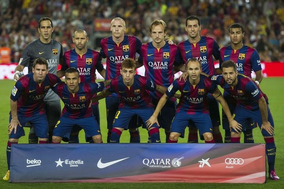 Daftar Skuad Pemain Barcelona 2014-2015