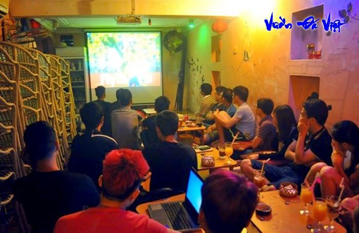 Ý tưởng kinh doanh cafe bóng đá