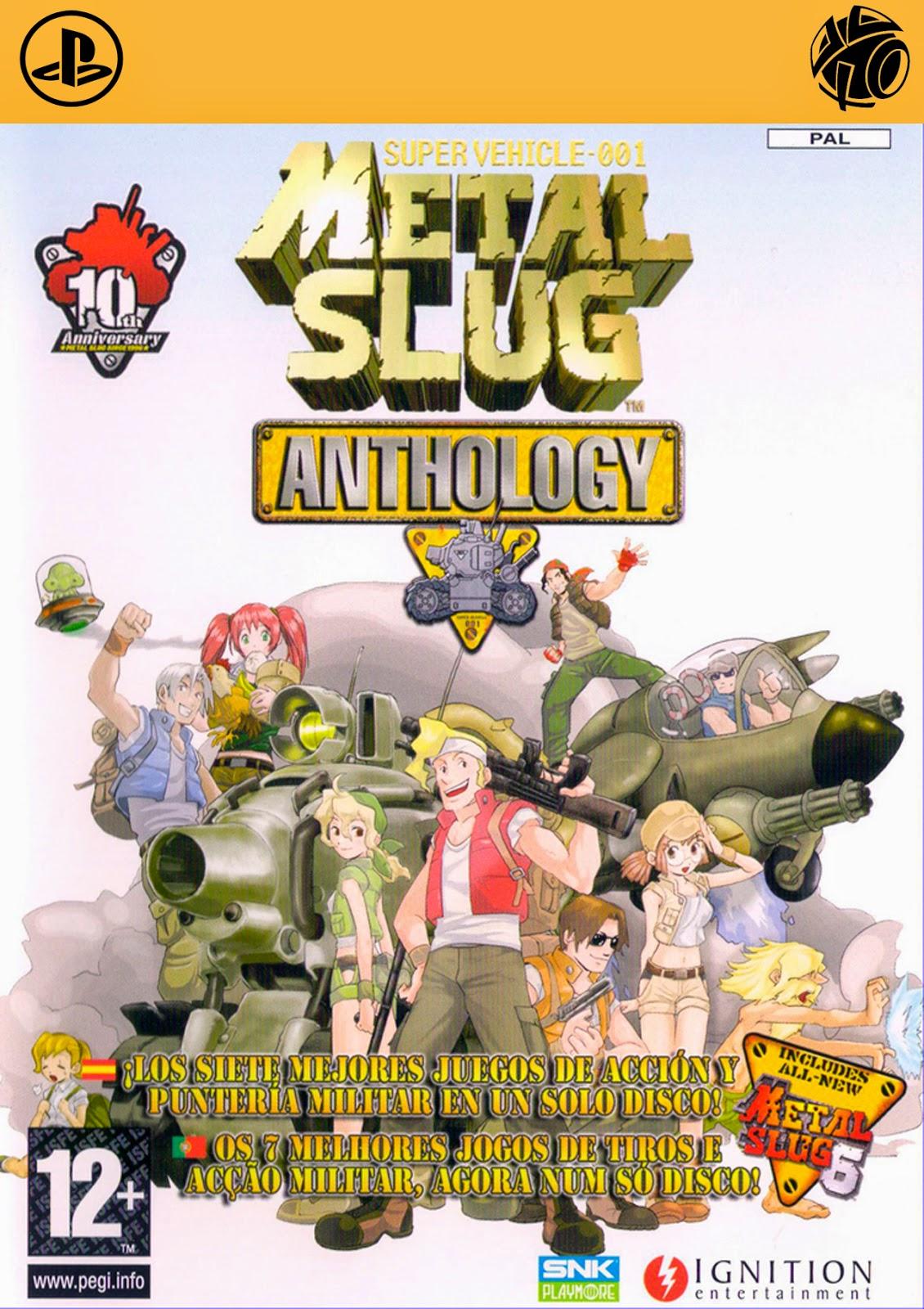 Metal Slug Anthology [PS2]