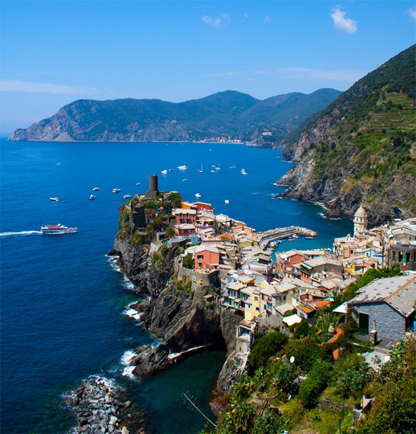 Vernazza Rocky Village in Italy