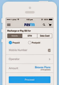 Paytm Promo Codes and Cashback Coupons December 2014