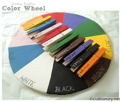 color wheel toddlers learning blog