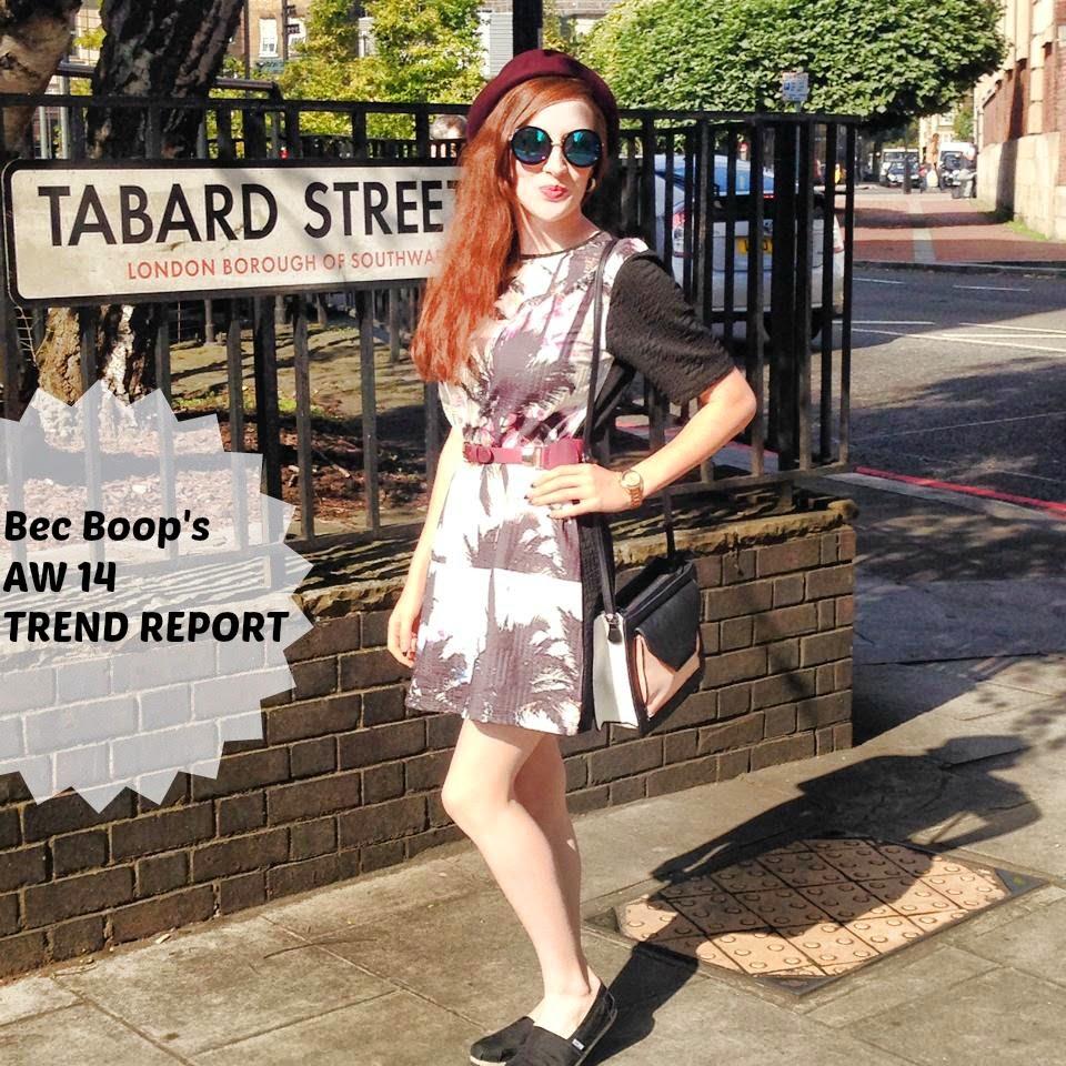 Bec Boop AW 14 trends