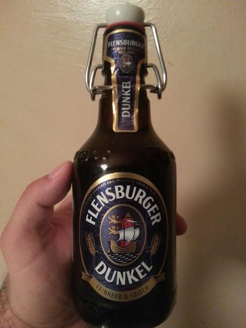 темное пиво Flensburger Dunkel