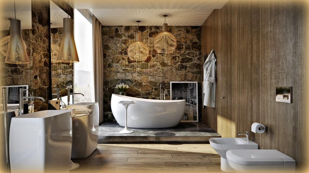 un p retr anni 70 questo splendido bagno che utilizza materiali eco complici le proporzioni e i volumi il massimo del comfort bellissimo