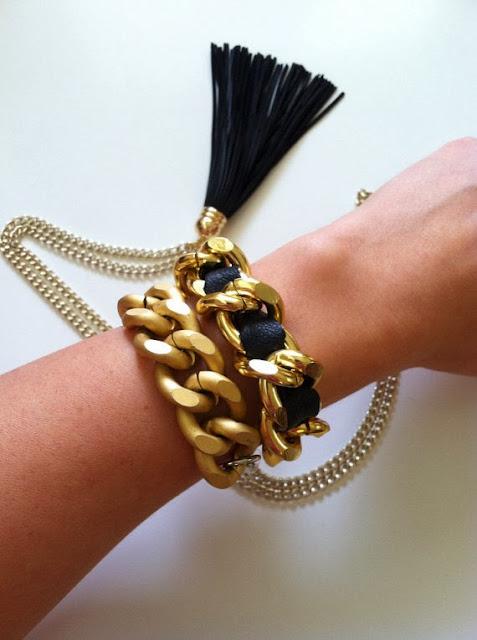 Chanel Inspired Bracelet.