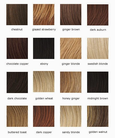 Loreal Color Chartdifferent Blondebrownreddark Hair Color