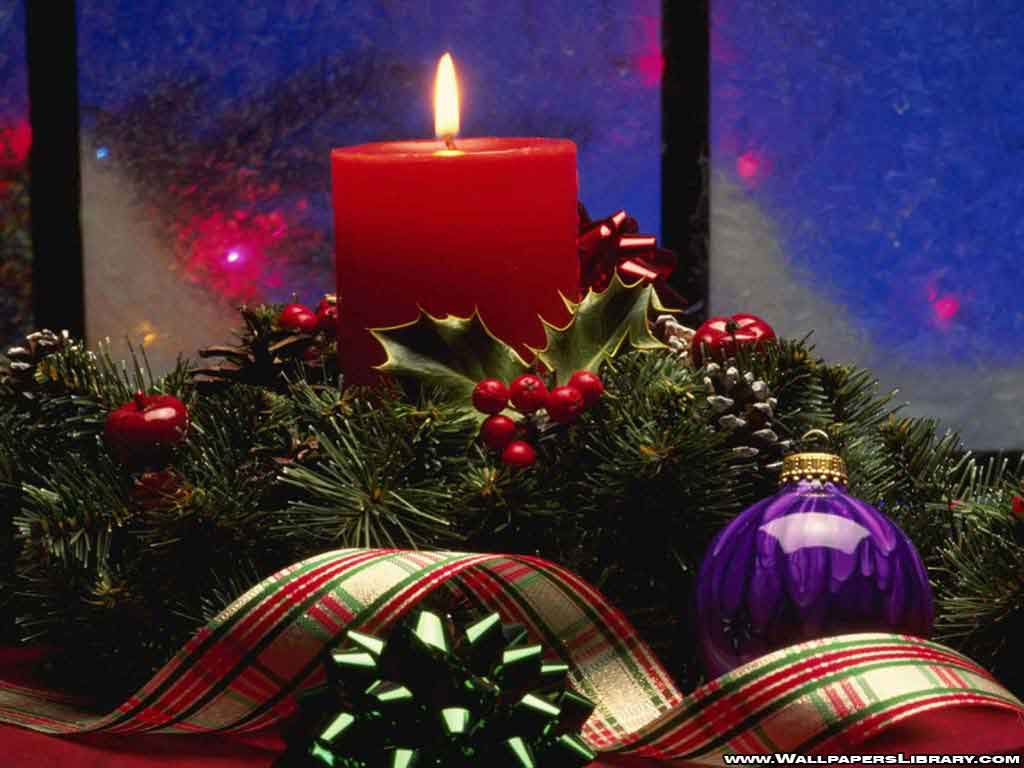 Christmas Candle Wallpapers - Download Christmas Candle Wallpapers ...