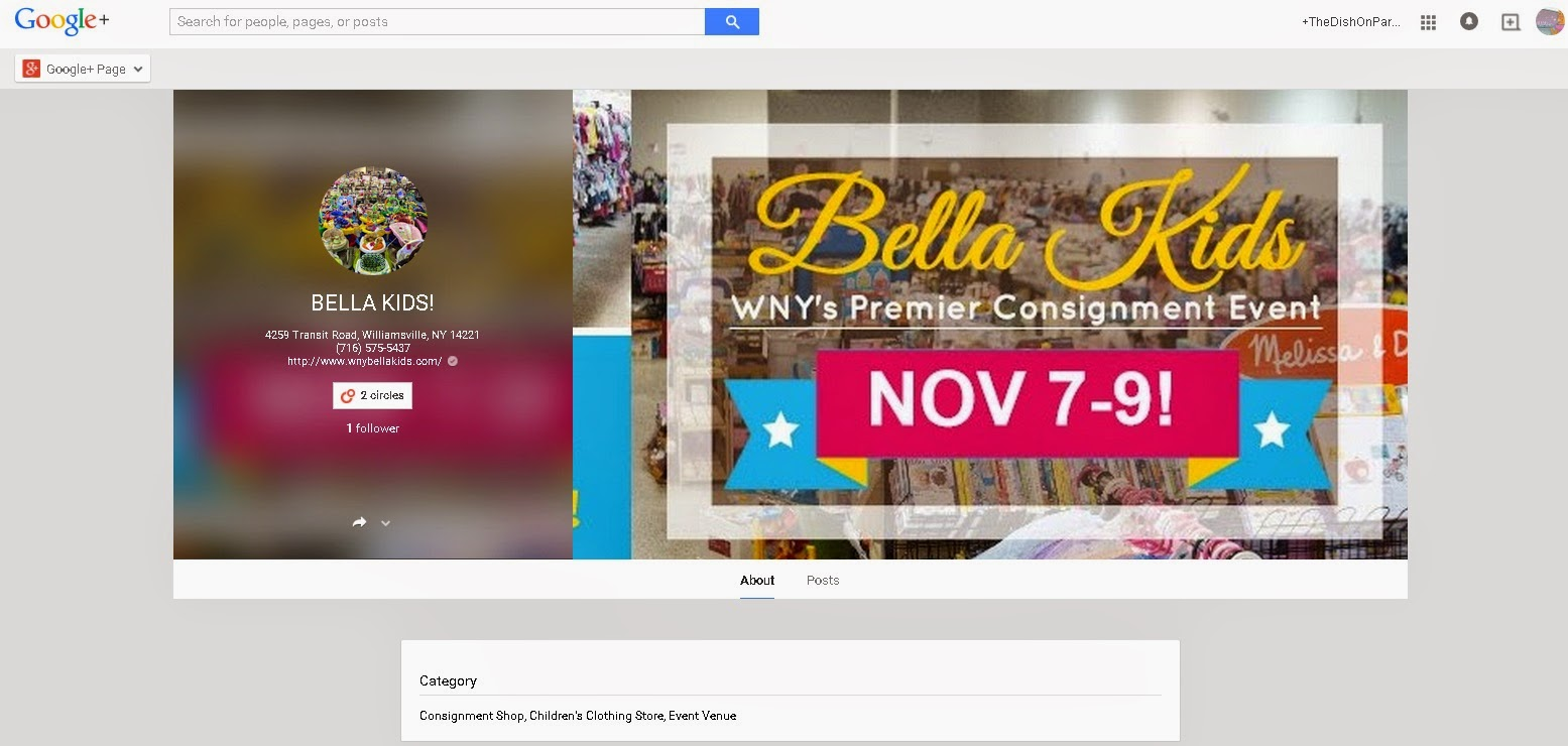 Bella Kids Google +