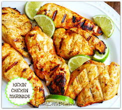 Kickin&#39; Chicken Marinade ~ Only 4 fabulous Ingredients!