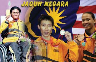 atlet malaysia menang pingat sukan Olimpik London