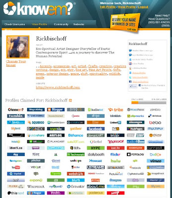 eco spiritual artist online social networks listing