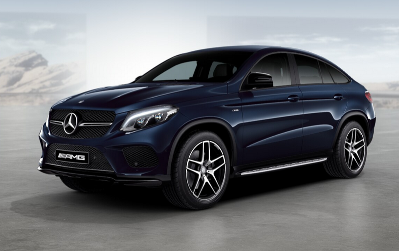 Mercedes Gle Coup 233 2016 Couleurs Colors