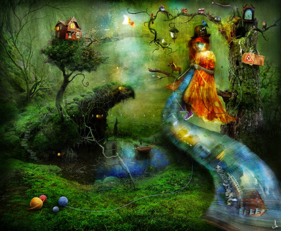 10-Alexander-Jansson-Fairy-tale-Worlds-in-Surreal-Paintings-www-designstack-co