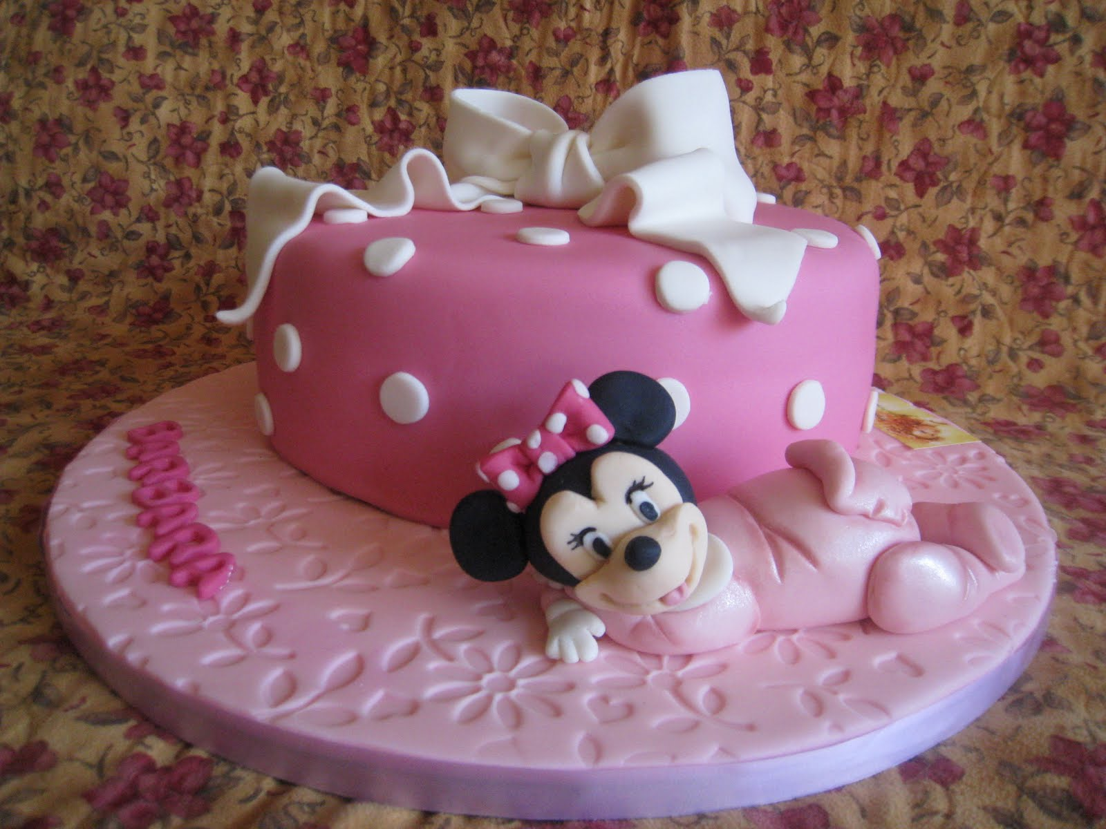 Tarta Minnie Beb     Minnie Baby Cake