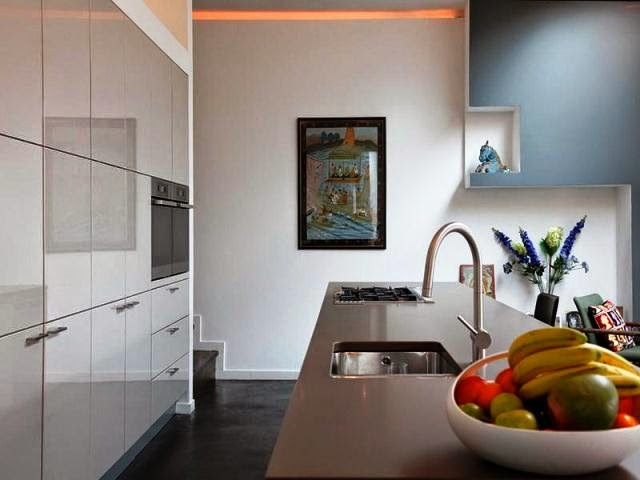 Wall paint colors modern for Contemporary kitchen colours