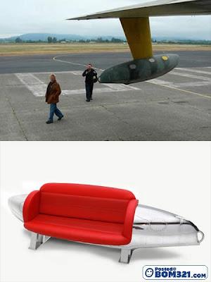 Perabot Dari Bahagian- Bahagian Kapal Terbang