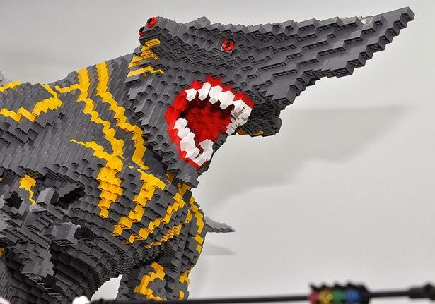 Lego Pacific Rim - Batalla Kaiju vs Jaeger