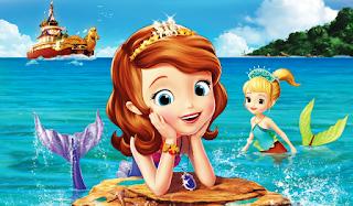 Gambar Sofia Putri Duyung Kartun Anak