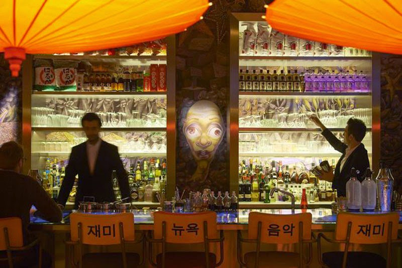 mejores diseños de interiores de bares y restaurantes del mundo, Miss Ko
