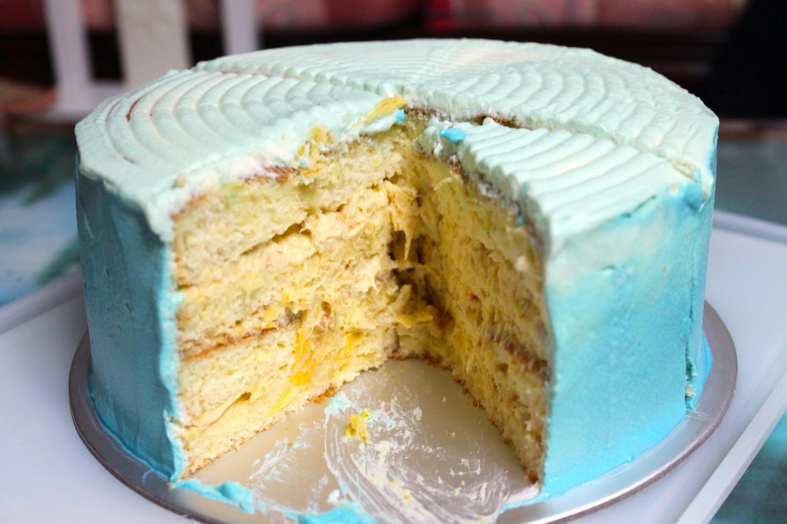 Yogilatte Durian Layered Cake Happy Birthday To My Pa Pa