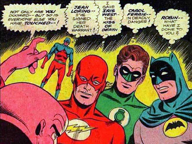 JLA funny panel