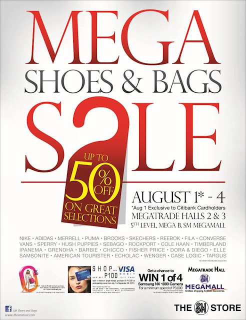 Budget Fashion Seeker - Shoes and Bags Sale Aug 1-4 2013