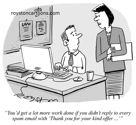 royston cartoons technology cartoon spam spam spam