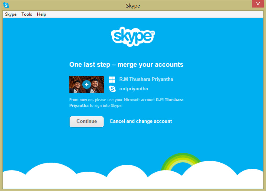 skype how to connect with facebook