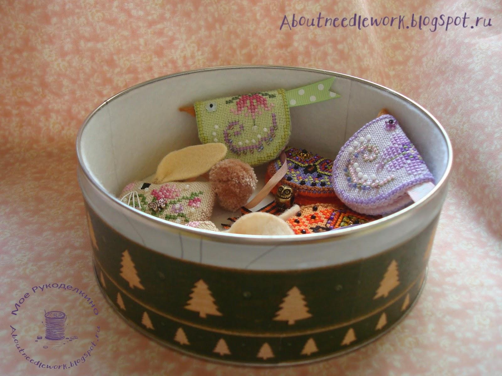 Декорирование жестяной банки от печенья