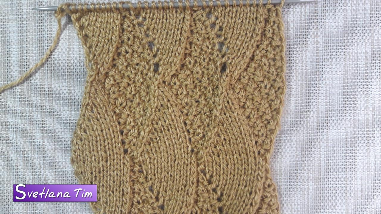 Видео вязание крючком и спицами узоры