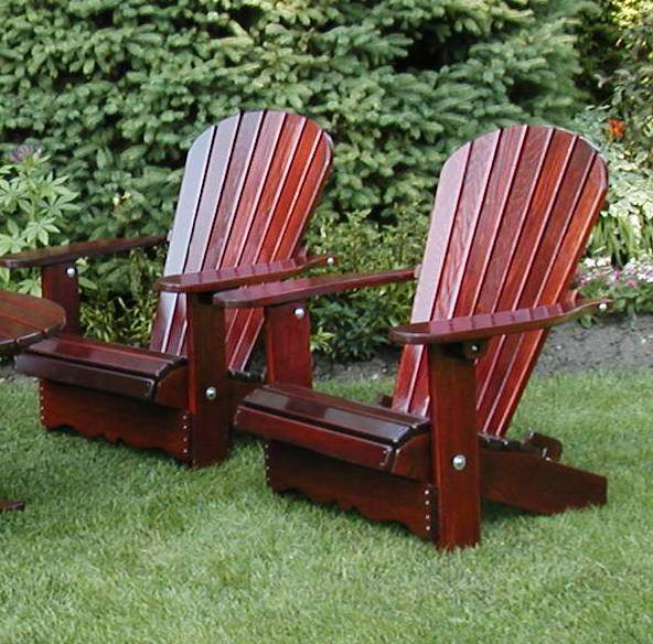 Cedar Adirondack Chairs How To Care For Your Cedar