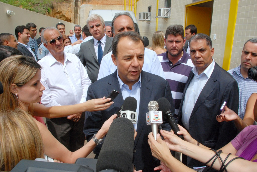 Governador Sérgio Cabral: Delegacia Legal de Teresópolis será inaugurada ainda este ano