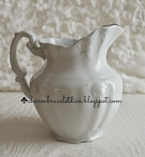 vintage Johnson Bros.ironstone pitcher